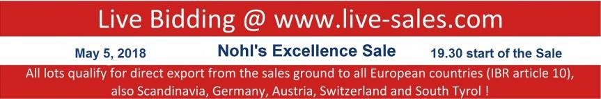 live sales, export